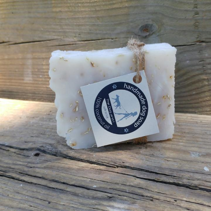 100% Coconut Oil Dog Soap Unperfumed