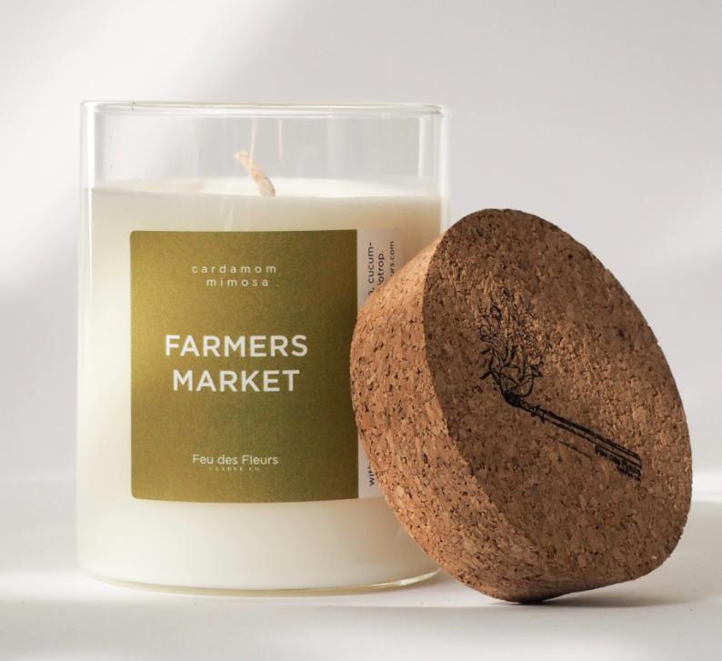 FARMERS MARKET Kerze