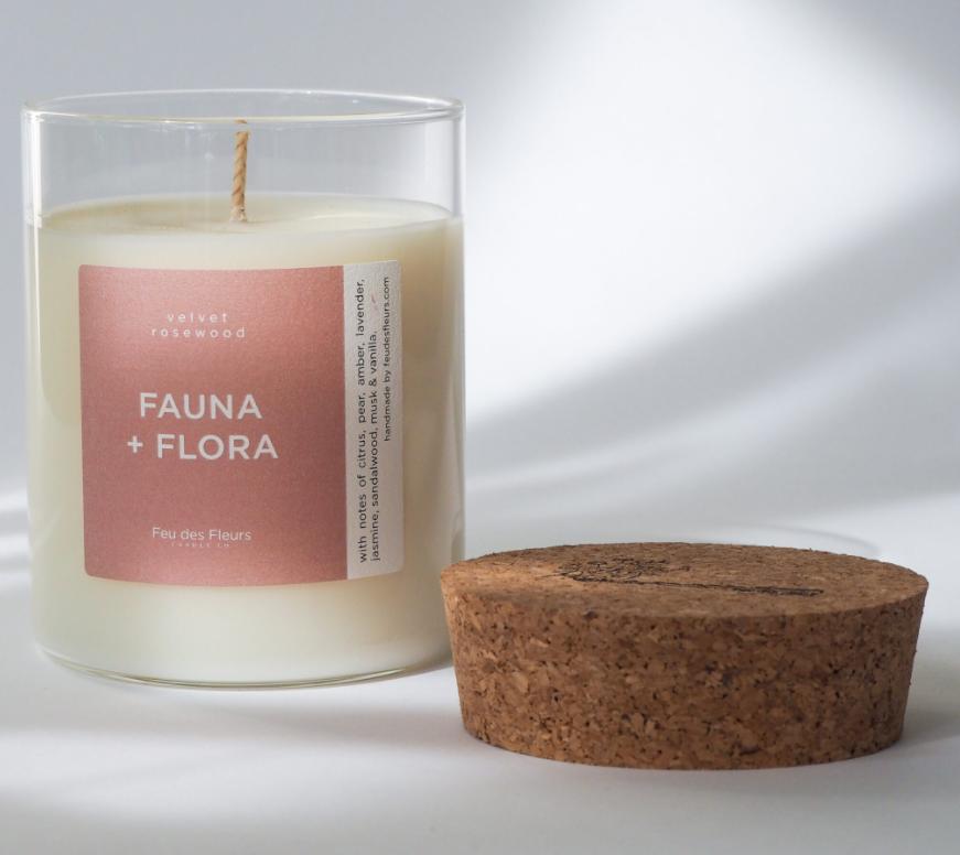 FAUNA + FLORA Kerze