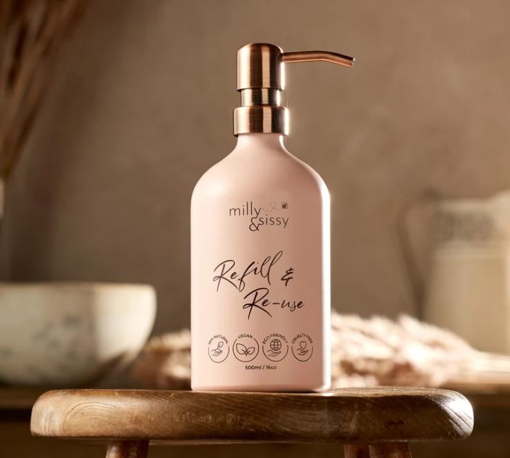 Refill & Reuse for Life Bottle - Blush