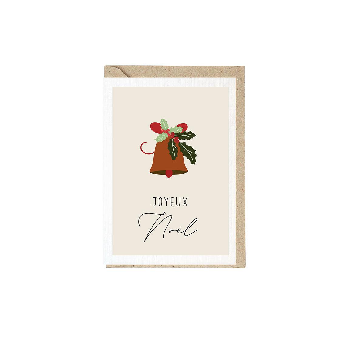 Weihnachtskarte Glocke