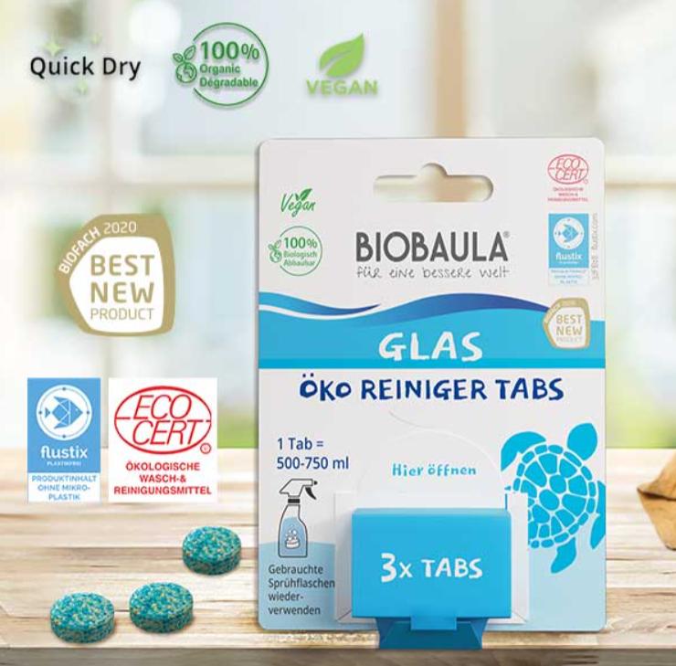 Glas-Reiniger Tabs